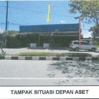 BANK DANAMON - Sebidang tanah SHM dan bangunan seluas 502 m2 di Jl. Bhayangkara, Kota Bontang