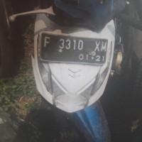 KEJARI CIBINONG 9 = 1 unit motor Honda Beat Nopol F-3310-XM  & 1 unit motor Yamaha Mio Nopol F-6780-ZA dijual apa adanya