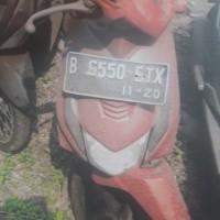KEJARI CIBINONG 8 = 1 unit motor Honda Beat Nopol B-6550-ETX, dijual apa adanya