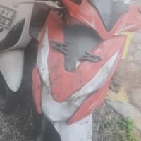 KEJARI CIBINONG 4 = 1 unit motor Honda Beat warna merah putih tanpa Nopol, berikut kunci kontak dan 1 buah helm merk GM, dijual apa adanya
