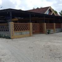 BRI Pamekasan : Tanah berikut bangunan,sesuai SHM No. 257, luas 585m2 di Desa Karang Penang Onjur Kec. Karangpenang Kab. Sampang