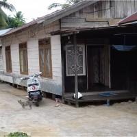 2. BRI Brb-Tanah luas 144 m2 dan bangunan, SHM No. 00227 di Jl Tanjung Pura Kec. Batu Benawa Kab. HST.