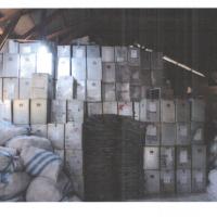 KPU Alor: 1 (satu) paket kotak suara berbahan alumunium eks pemilu tahun 2004 dengan volume 6168 kg