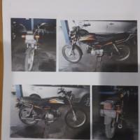 BKK Cilacap: satu unit motor Win MCB Nopol  R 4059 GT tahun 2005 BPKB dan STNK ada