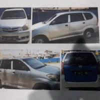 BKK Cilacap: satu unit mobil Daihatsu F600 RV (Xenia 1.0) Nopol R 9471 EB tahun 2007 BPKB dan STNK ada