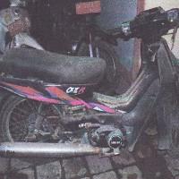Yamaha V 100 E, warna hitam, tahun pembuatan 1996, Nopol DK 2193 W, milik PemKab Jembrana