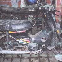 Honda C86, kapasitas mesin 80 cc, Nopol DK 2615 W, milik PemKab Jembrana
