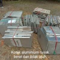1 (satu) paket Barang Milik Negara berupa 2.084 buah Kotak Suara Berbahan Aluminium berat 6.038 Kg (Milik KPU Kab.Bima)