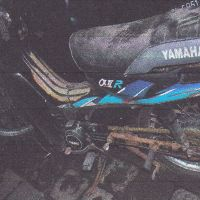 Yamaha V 100 E, warna hitam, tahun pembuatan 1996, Nopol DK 4411 W, milik PemKab Jembrana