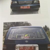 1 (satu) unit Toyota Kijang Super KF70 tahun pembuatan 1999. Kondisi Rusak Berat BPTP