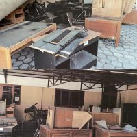 1 (satu) paket Barang Inventaris Kantor berbagai jenis, merk, dan type sejumlah 248 unit kondisi rusak berat