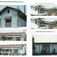 1 paket bangunan  akan dibongkar sebanyak 4 unit  kondisi apa adanya milik (BLK)