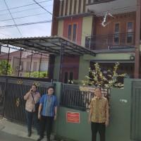 BRI  : tanah + bangunan SHM No.5610, seluas 110 m2 Kp. Ceger Rt. 03 Rw. 05 ,Jurangmangu Barat, Pondok Aren, Tangsel