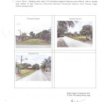 BCA Tebing Tinggi Lot 9: Sebidang tanah kosong seluas 703 m2 sesuai SHM No. 1140 terletak di Kota Tebing Tinggi