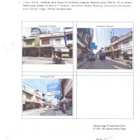 BCA Tebing Tinggi Lot 11: Sebidang tanah seluas 80 m2 berikut bangunan (Ruko) diatasnya sesuai SHM No. 271 terletak di Kota Tebing Tinggi