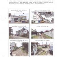 BCA Tebing Tinggi Lot 17: 5 (lima) bidang tanah berikut bangunan di atasnya dijual dalam 1 (satu) paket paket terletak di Kota Tebing Tinggi