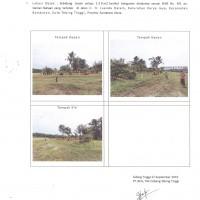 BCA Tebing Tinggi Lot 8: Sebidang tanah kosong seluas 230 m2 sesuai SHM No. 401 terletak di Kota Tebing Tinggi