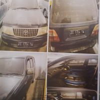 BRI Tj Karang - Mobil Kijang Super Thn.2004 No.Pol. BE 1704 YW, kondisi rusak berat