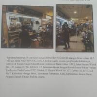 PT Bank Danamon Indonesia Tbk: Tanah & bangunan (Ruko) sesuai SHMASRS No. 2826/III/Mangga Besar luas 11,5 m2