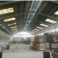 Tim Kurator Mercu Gramaron,Cs :2 bidang T/B Gudang, SHM, di Kaw. Industri KM. 19,8, Kota Tangerang total LT 2.734 m2 dan LB ±1.293 m2