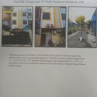PT. Bank Danamon Indonesia Tbk.: Tanah & bangun SHGB No. 1949/Taman Sari luas 121 m2, Jl. Mangga Besar IV A RT. 003/02