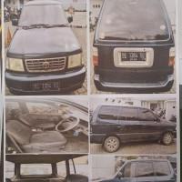 BRI Tj Karang - Mobil Kijang Super KF 83 Thn. 2002, No.Pol.BE 1384 BI, kondisi rusak berat