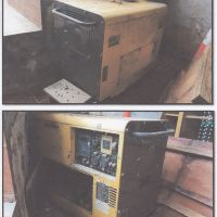 1 unit Generator Listrik, merk/type Krisbow 40 KVA, tahun 2011 dalam kondisi rusak berat