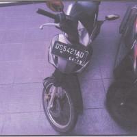 1 unit kendaraan roda 2  Merk/Type Honda/NF 125 TD, tahun 2009, Nomor Polisi DS 5421 AD