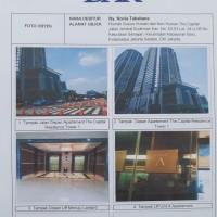 PENGADILAN AGAMA JAKSEL-1 Unit Apartemen SHMASRS 817/XII/I/Senayan, L=147,55M2, The Capital Residence, Lantai 06 No.1/06/A Tower 1, Senayan