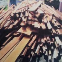 Kayu broti sebanyak 701 batang, 10,1829 m3 dan kayu berbentuk papan lebar sebanyak 61 batang, 1.0370 m3 KEJARI PALU