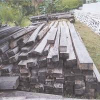 112 batang kayu olahan jenis Merbau tanpa SKSHH