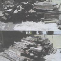 Lelang Barang Rampasan Kejaksaan Bima : 187 batang kayu sonokling dlm bentuk papan, balok dgn ukuran bervariasi, volume 6,6402 m3