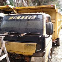 1. KEJARI KUTIM II - 1 unit mobil Mitsubishi Dump Truck Nopol E-9414-PA warna Kuning dan 3,06 M3 kayu olahan jenis ulin