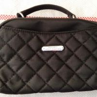 [Sukarela]1 (satu) buah dompet wanita (clutch kecil) warna hitam tipe manik kondisi baru