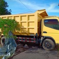 Kejari Katingan: 1 (satu) Unit Mobil Dump Truck merk Mitsubishi Type FE SHDX HI GEAR  Warna Kuning, KH 8437 LN, tanpa STNK dan BPKB (11a)