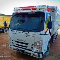 Kejari Katingan: 1 Unit Dump Truck merk Isuzu, Type NMR 71T HD6,1, warna Putih, KH 8641 NP, tanpa STNK dan BPKB (7a)