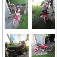 (Kemenag Barru - lot7) - 1unit kendaraan roda dua, Merk/Type : Suzuki A 100 , No Polisi : DD 4074 L Tahun Pembuatan 1995, rusak berat