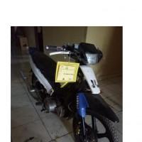 KEJARI MUBA: 1 (Satu) unit sepeda motor Yamaha FIZR Warna biru putih tanpa plat nomor polisi