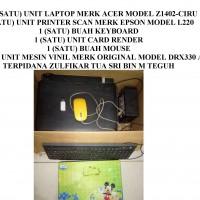 KEJARI MUBA: 1 (satu) unit Laptop Merk Acer Model Z1402-CIRU