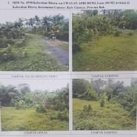 1 bidang tanah kosong SHM 4590 luas 100 m2 di Kel. Bitera, Kec. Gianyar (Mandiri Taspen)