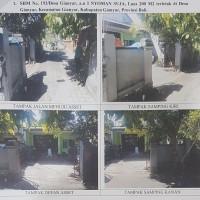 1 bidang tanah dan bangunan SHM 193 luas 200 m2 di Desa Gianyar, Kec. Gianyar (Mandiri Taspen)