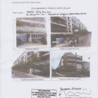1 (satu) bidang tanah dan bangunan hotel (84 buah SHMSRS) berikut inventaris hotel yang dijual 1 paket (Kurator PT Rendamas)