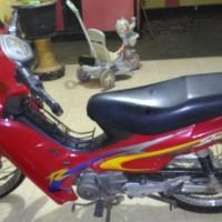Sepeda Motor,Th2001,Suzuki/Shogun,Rangka IH8FD110X1J719580,Mesin E109ID718555,M 2238 VP (BPKB tidak ada)
