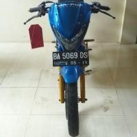 [KjriTnd] 2. 1 (satu) unit sepeda motor merk Suzuki Satria FU Nopol BA 5069 DS & kunci kontak,  1 lembar STNK, tidak ada bukti kepemilik