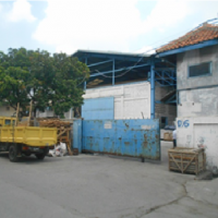 Kurator PT Mercu Gramaron Cs:2 (dua) bidang Tanah berikut Bangunan Gudang,SHM, Luas Tanah 2.734 m2,Kawasan Industri Jl Daan Mogot, Tangerang
