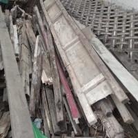 Kejari Kota Tangerang -  Sisa Bongkaran Mess dan Gudang Arsip
