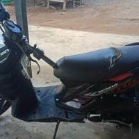Kejari PALI Lot 16: sepeda motor Yamaha Extreme warna hitam, Tahun pembuatan : 2014, Tanpa BPKB dan Tanpa STNK