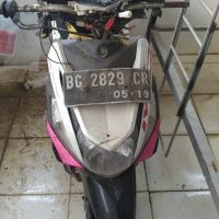 Kejari PALI Lot 3: Sepeda motor Yamaha Mio IM3 125 warna putih pink, Tahun pembuatan : 2015, Tanpa BPKB dan Tanpa STNK