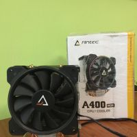1 (satu) buah Antec A400 RGB - 120mm 256COLOR RGB - 4 Pure Copper Heatpipe - All Intel & AMD Socket (Except TR4) kondisi bekas
