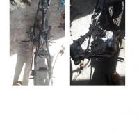 Polres.Sintang.6: 1 (satu) unit kendaraan dinas roda 2 (dua) Merk/type Yamaha RX King No.Pol 582-31 tahun 2005